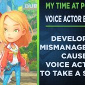 Voice Actors had to fight for pay over My Time At Portia Game