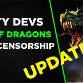 Dirty Devs: Day of Dragons Update Part 2 Censorship and Bullying