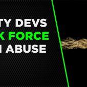 Dirty Devs: Task Force Developer Redline Game Ban Abuse